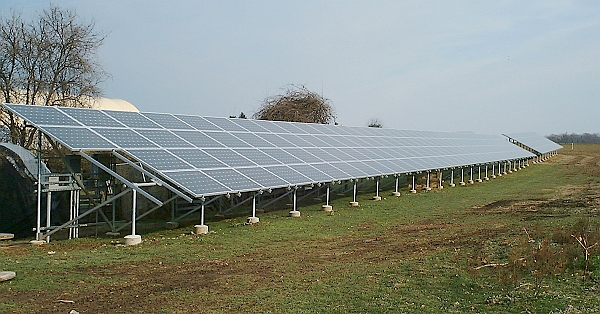 Solar Array Long View